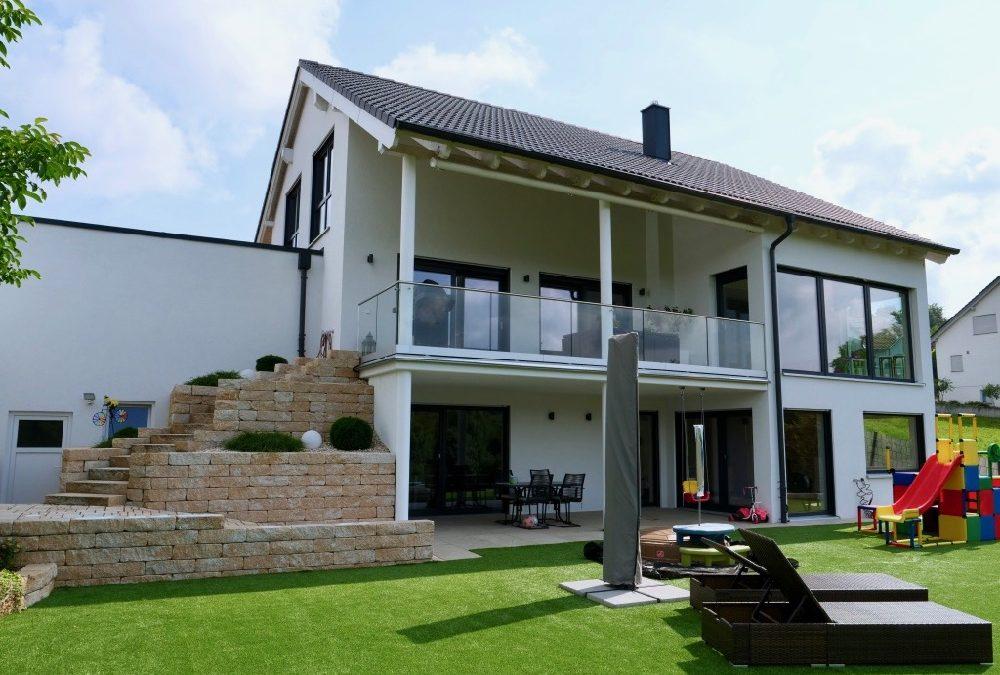 Einfamilienhaus mit Hanglage | Familie G. aus Mundelsheim