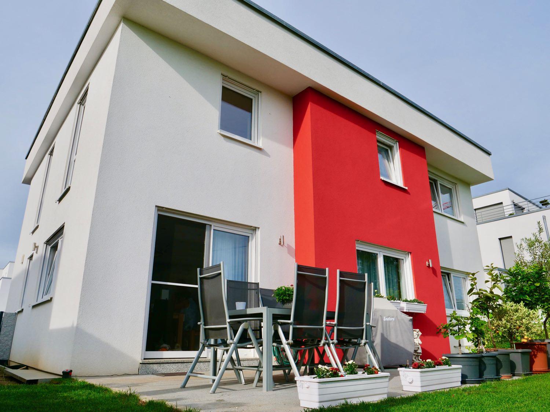 Eitelkeit Haus Mit Flachdach Sammlung Von Ein Für Die Ganze Familie In Kornwestheim