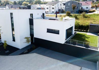 Einfamilienhaus mit Flachdach | Familie B. aus Wiernsheim
