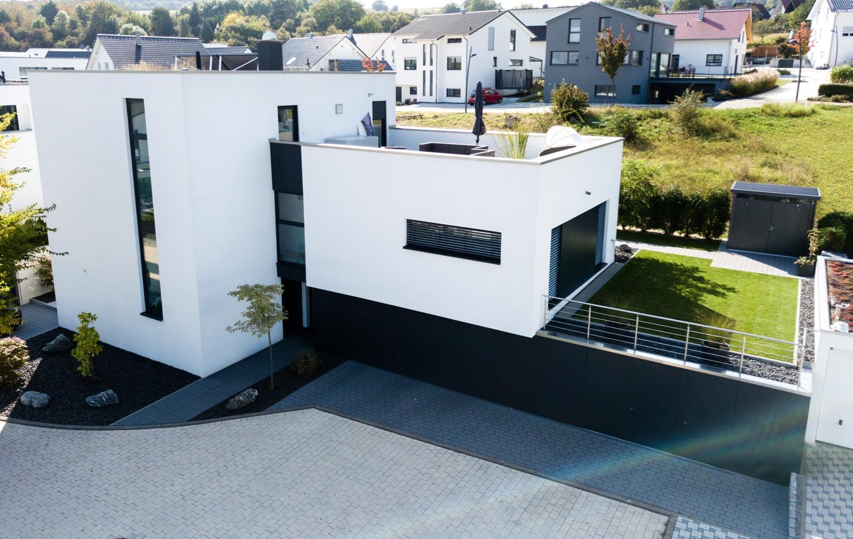 Einfamilienhaus Mit Flachdach Familie B Aus Wiernsheim
