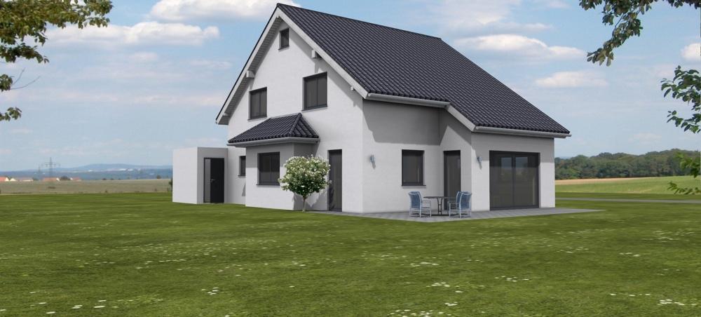 Haus der Handwerker - Entwurf Einfamilienhaus