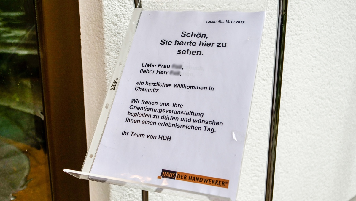 Haus der Handwerker e.V. - Bemusterung in Chemnitz