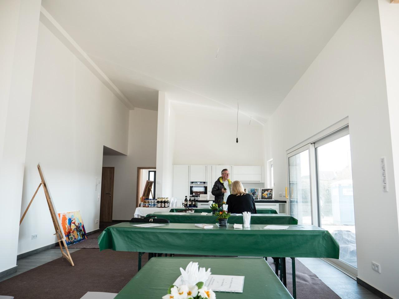 Hausbesichtigung Bundesverband Haus der Handwerker e.V. in Malmsheim