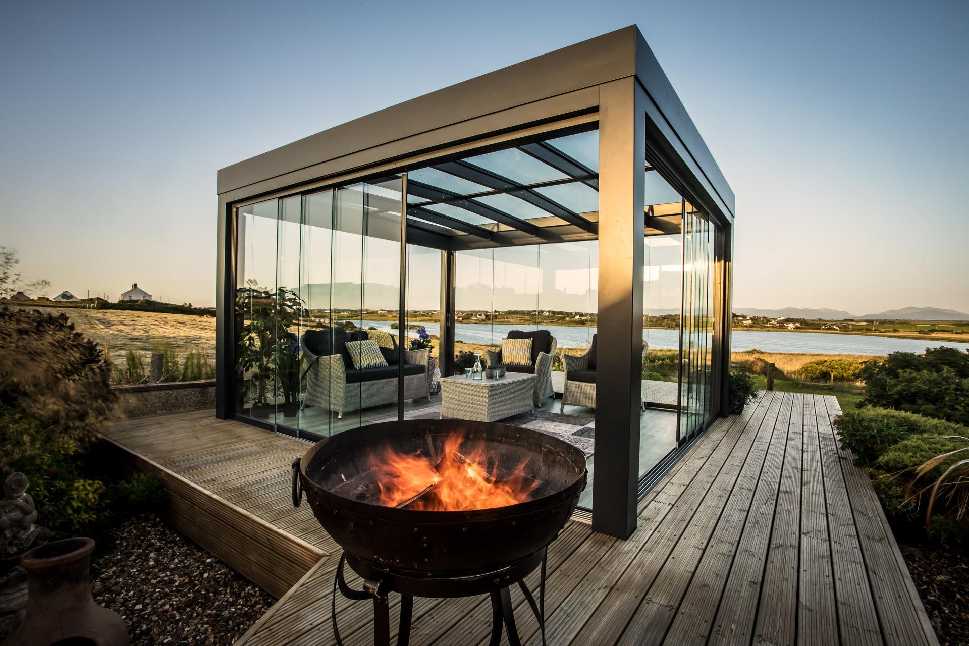 Solarlux Terrassen-Überdachung
