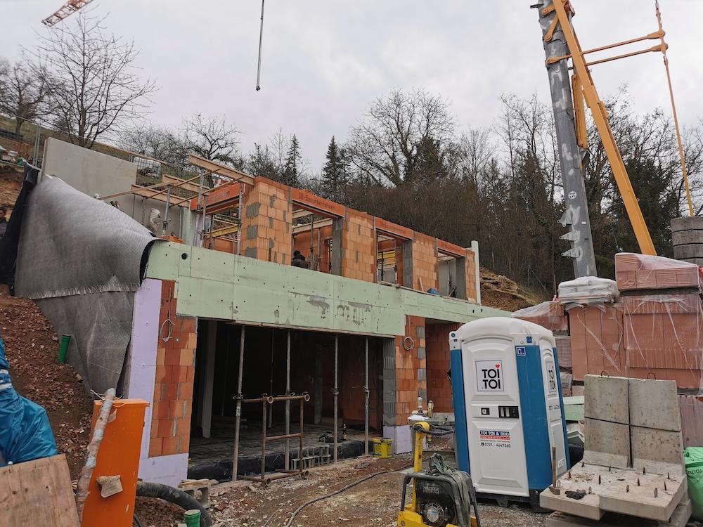 Haus der Handwerker –Bautagebuch